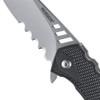 Ruger Follow-Through Flipper Knife, Stonewash Combo Blade