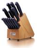 Cold Steel Kitchen Classics Knife Set, Kray-Ex Handle, 13 Piece