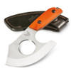 Benchmade Hunt Series Nestucca Cleaver, Orange G10, Sheath