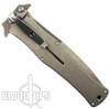 "Darrel Ralph HTM Madd Maxx 5.5"" Spring Assist Knife, Titanium Handle"