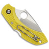 Spyderco Dragonfly2 Salt Knife, Plain Blade, FRN Yellow Handle, C28PYL2