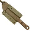 Microtech 200-1PVDTN Borka Tan SBK Fixed Blade Knife, Tan Blade