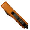 Microtech 231-1OR Orange UTX-85 S/E OTF Auto Knife, Black Blade