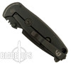 DPx Gear HEST/F Milspec Left Hand Knife, Triple Black