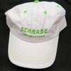 Schrade SCHH2W White/Green Hat, Adjustable Strap