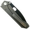 Medford Knife & Tool MK02DP-08TM 187DP G-10/Tumbled Titanium Folder Knife, D2 Black Blade