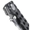 Ruger Go-N-Heavy Folding Knife, Stonewash Combo Blade
