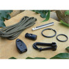 ESEE Knives OD Green Izula Fixed Blade Knife, Survival Kit, 1095 Carbon OD Green Blade