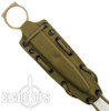 Spartan Blades CQB Fixed Blade Knife, FDE Blade, Tan Kydex Sheath
