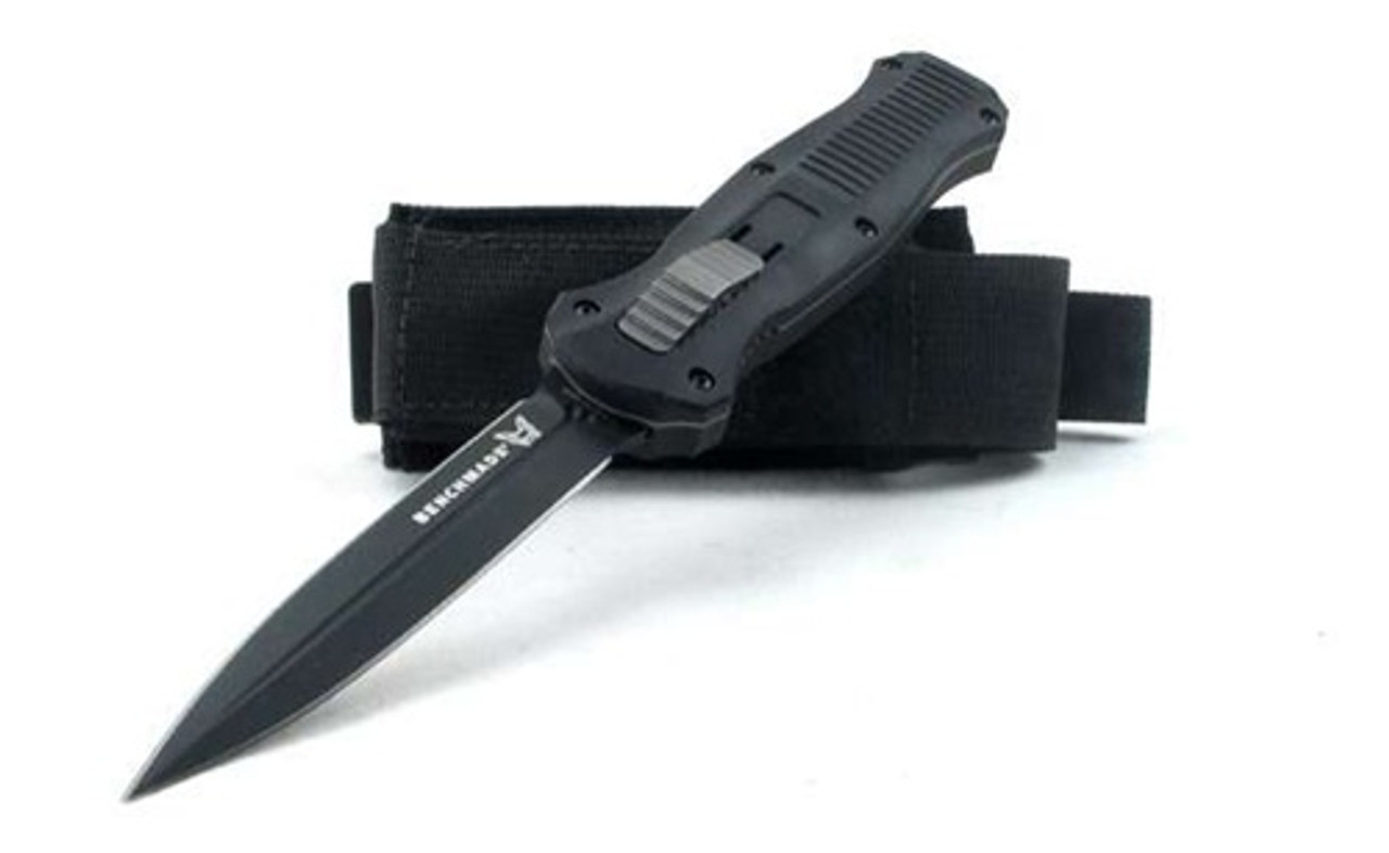 Benchmade 3300BK Infidel D/E OTF Auto Knife, D2 Black Blade