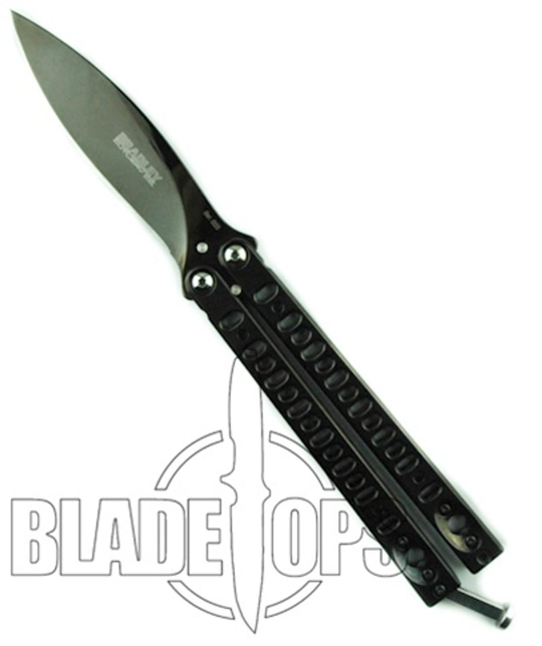 Bradley Kimura Butterfly Knife Set, Limited Polished Black, II, III, and IV