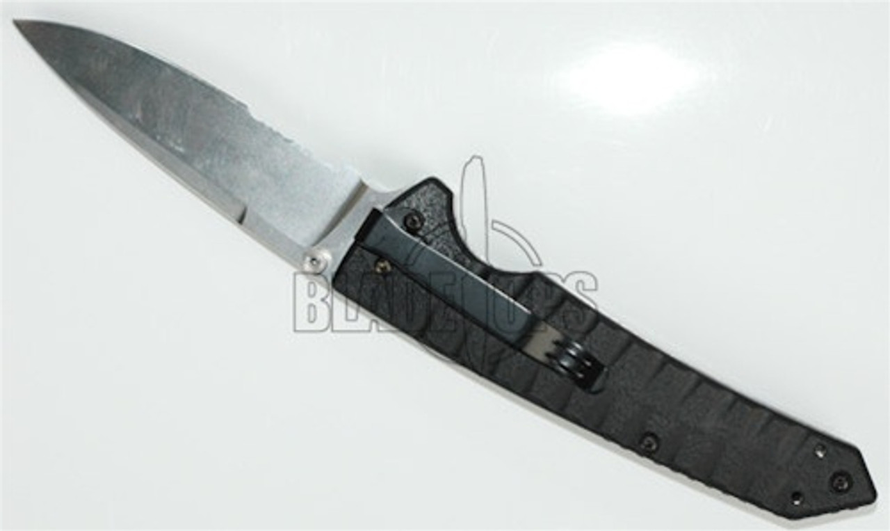 Blackhawk Blades BHB30 Assisted Opener Partially Serrated