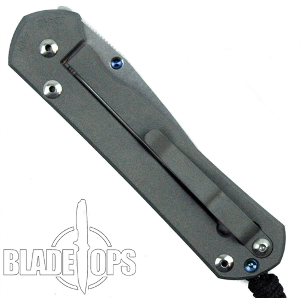 Chris Reeve Large Sebenza 21 Insingo Knife, Stonewash Plain