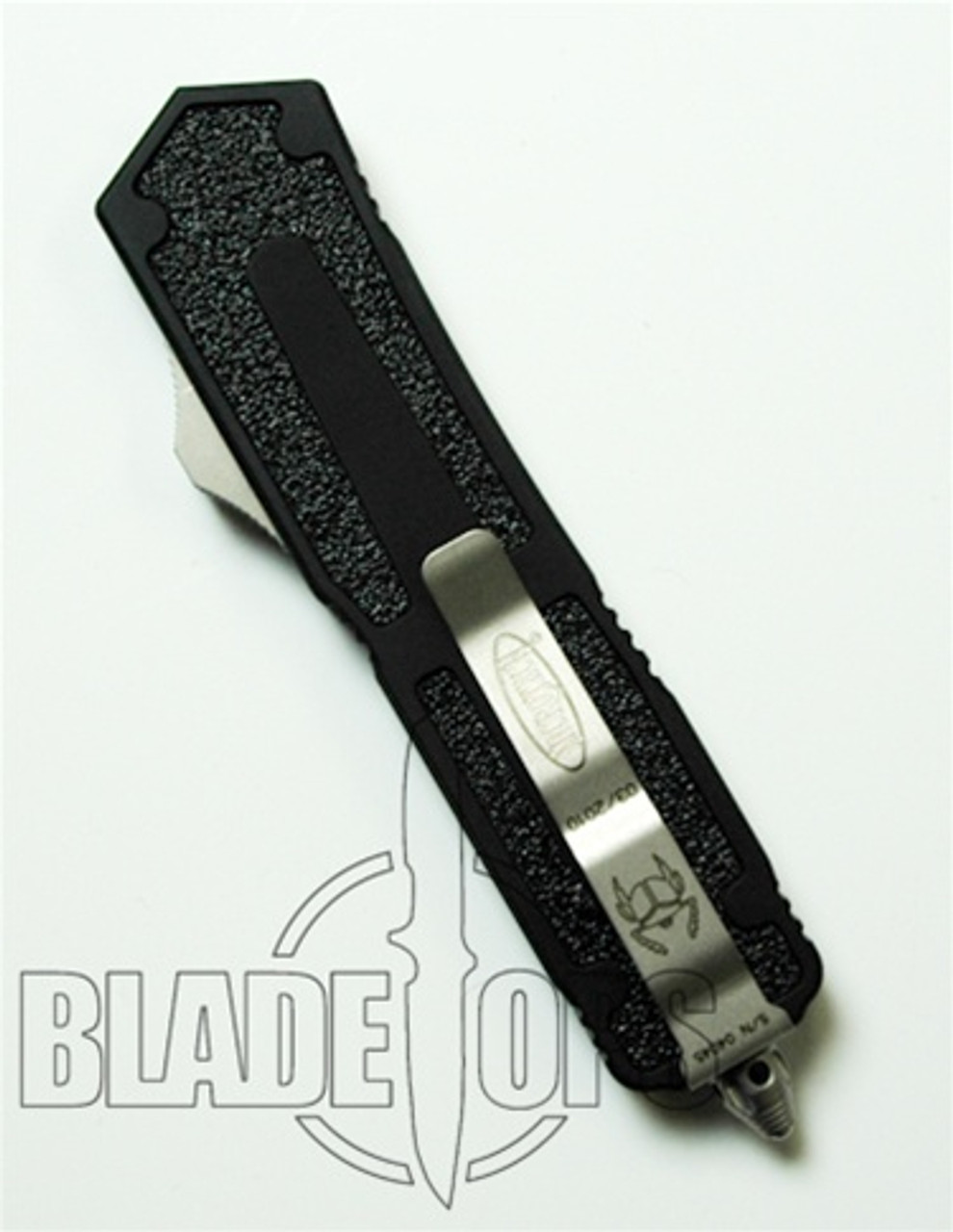 Microtech Scarab Double Action, OTF, Bead Blast Plain Blade, D/E, MT110-7