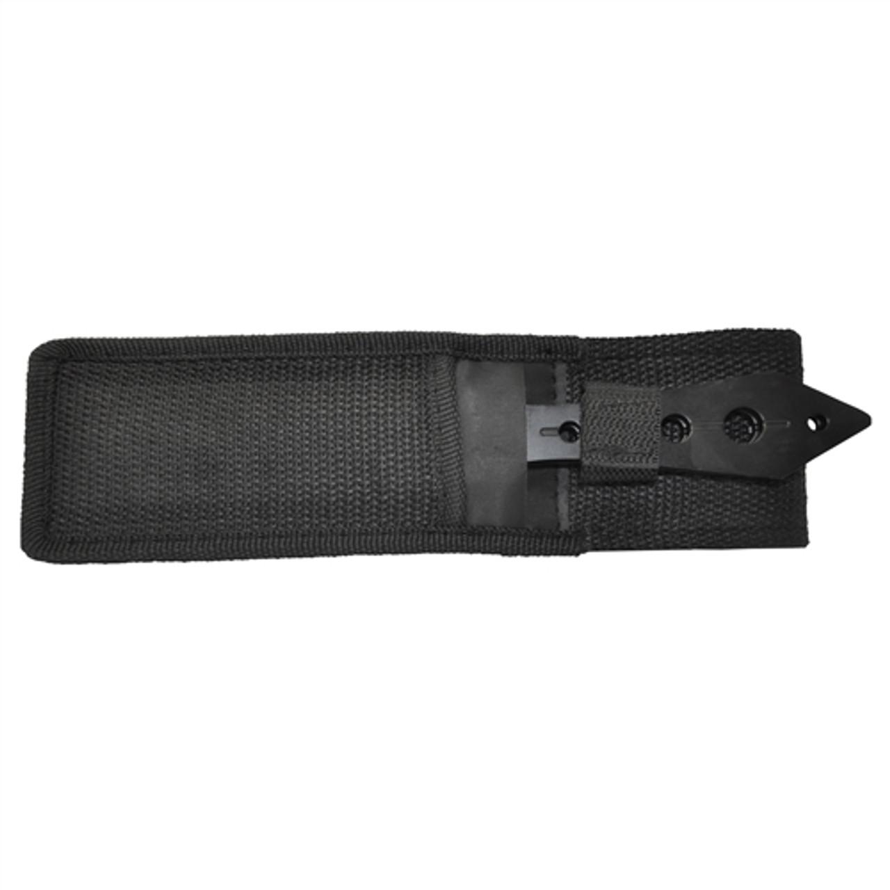 UZI TRW-TZP 2-Piece Throwing Knife Set, Satin/Black Blades
