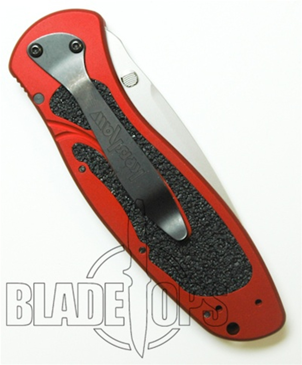 Kershaw Red Blur Spring Assisted Knife by Ken Onion, Plain Edge, KS1670RD