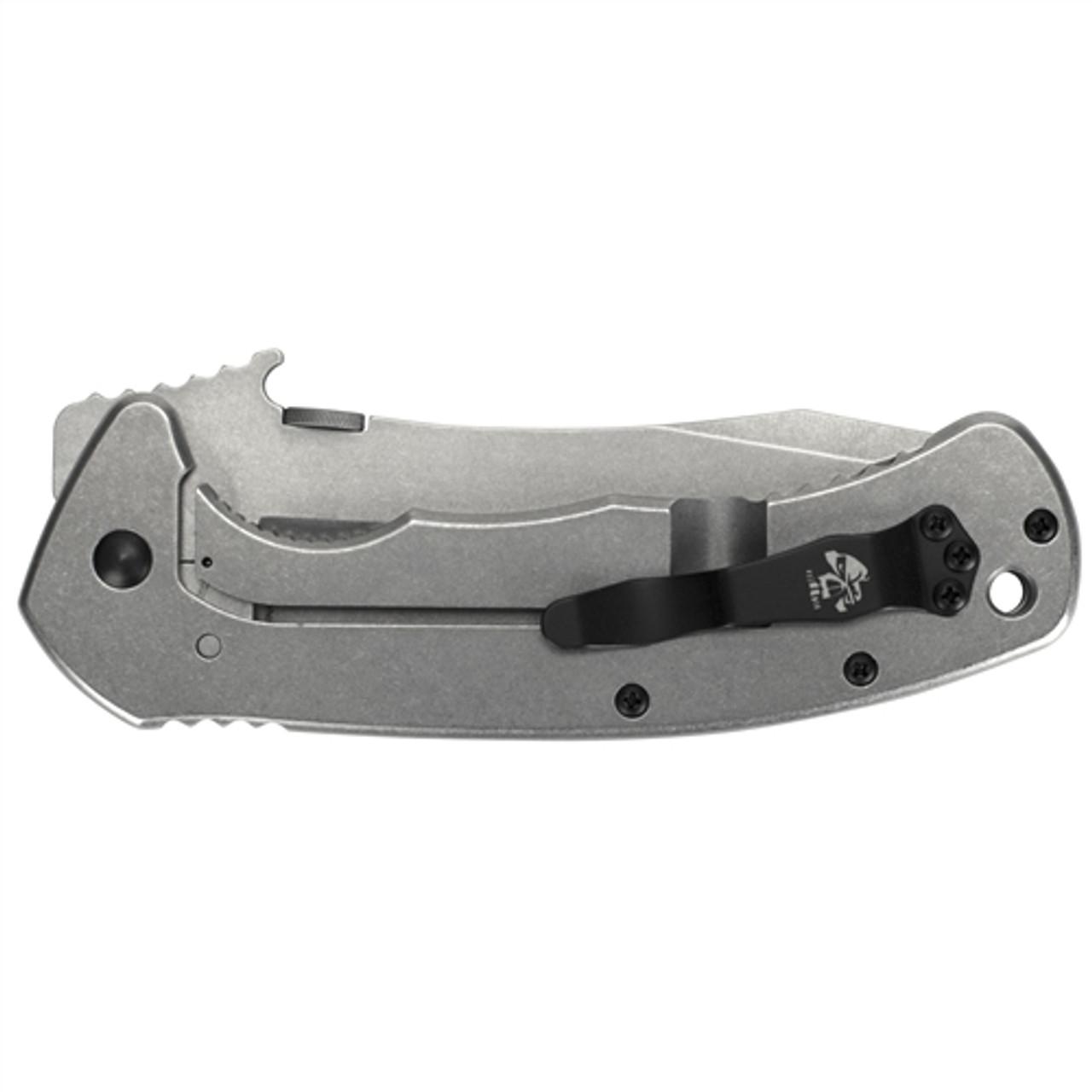 Kershaw 6031 Brown Emerson CQC-11K Folder Knife, Stonewash Blade