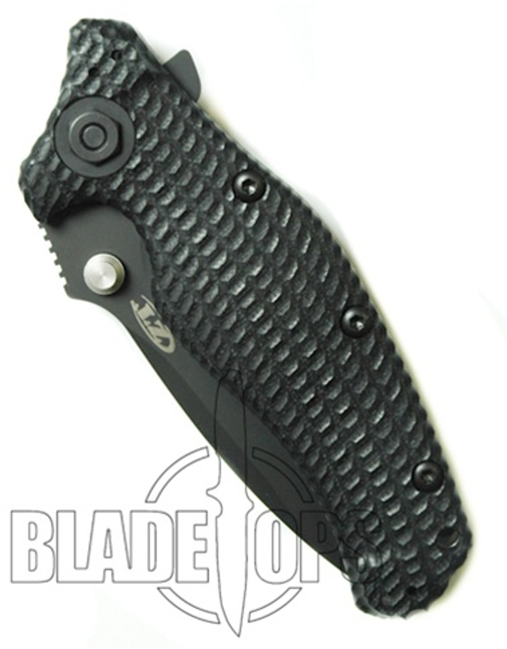 Zero Tolerance 0200ST Folder Knife, Part Serr Tactical Blade, G10 Handles