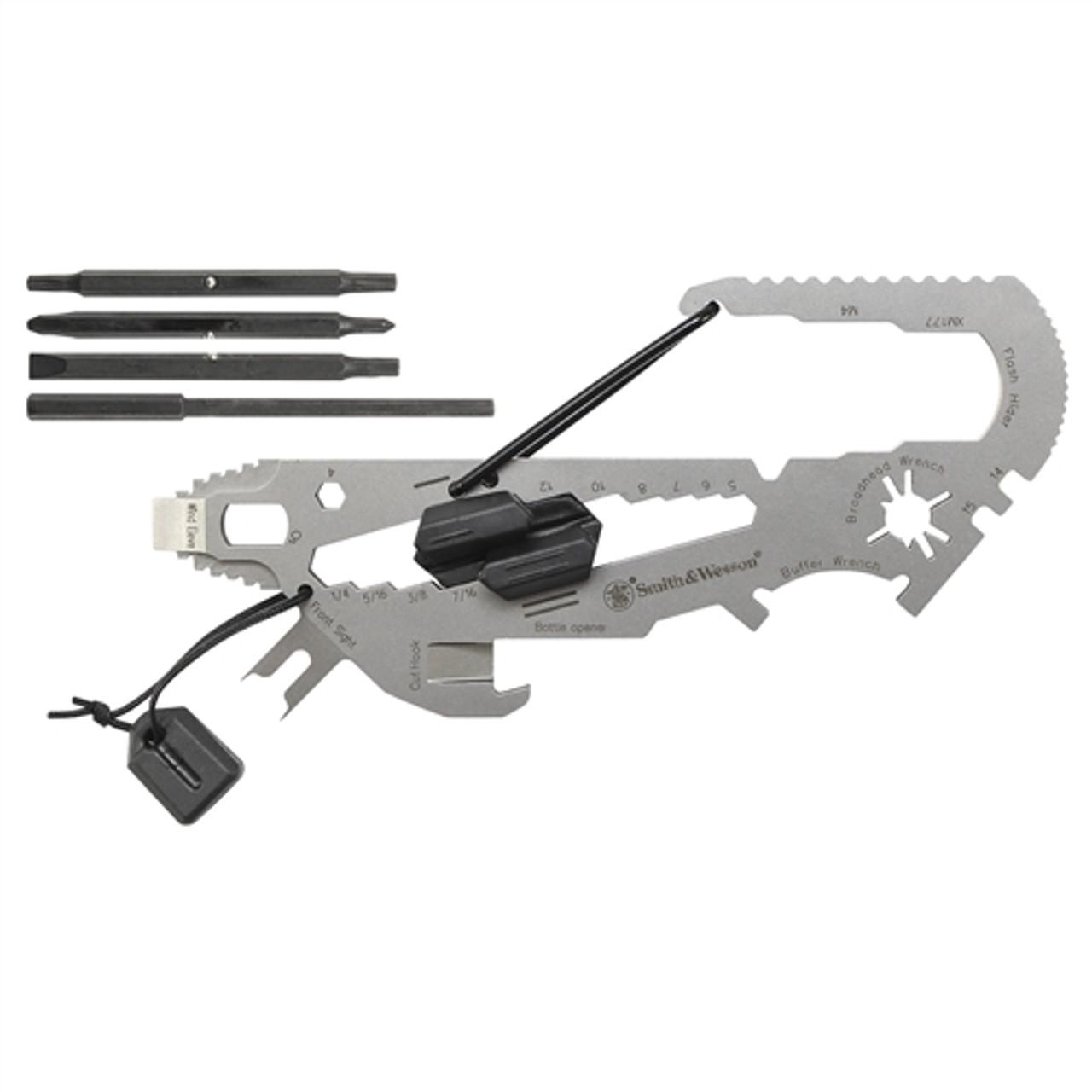 Smith & Wesson SWRT1 Rifle/Shotgun/Archery Multi-Tool, 18 Tools