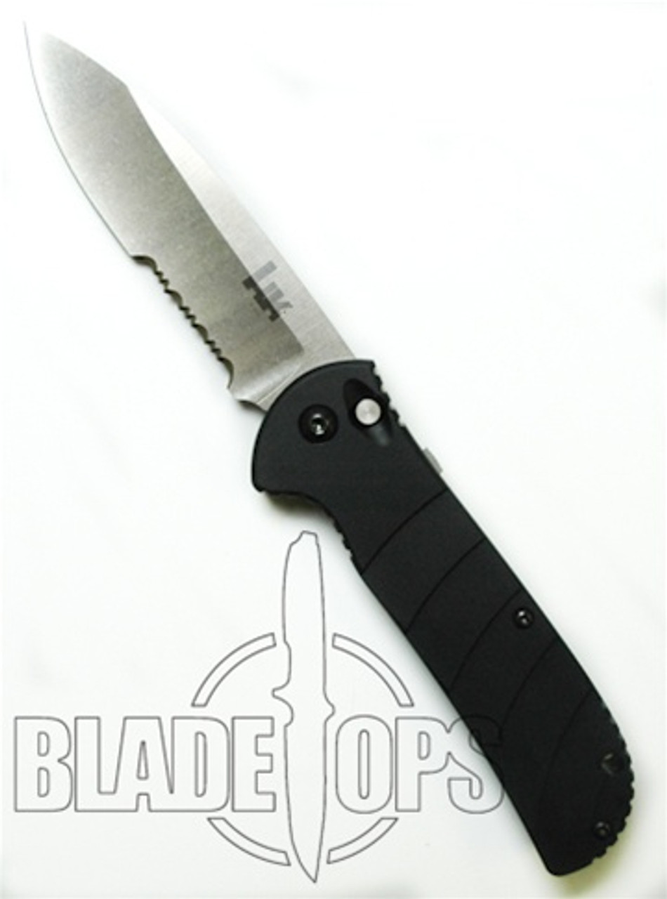 Benchmade 14700S HK Auto Knife, Part Serrated