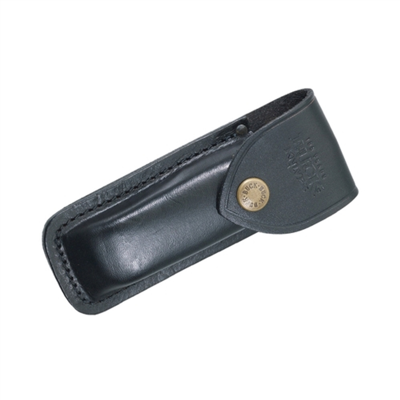 Buck 0110BRS 110 Hunter Dymondwood/Brass Folder Knife, Satin Blade