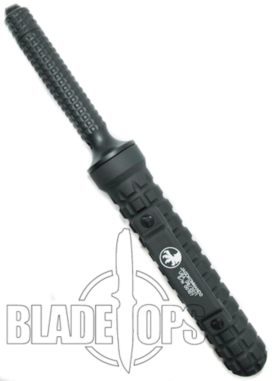 Microtech Jagdkommando Fixed Blade Knife, Black, MT105-1