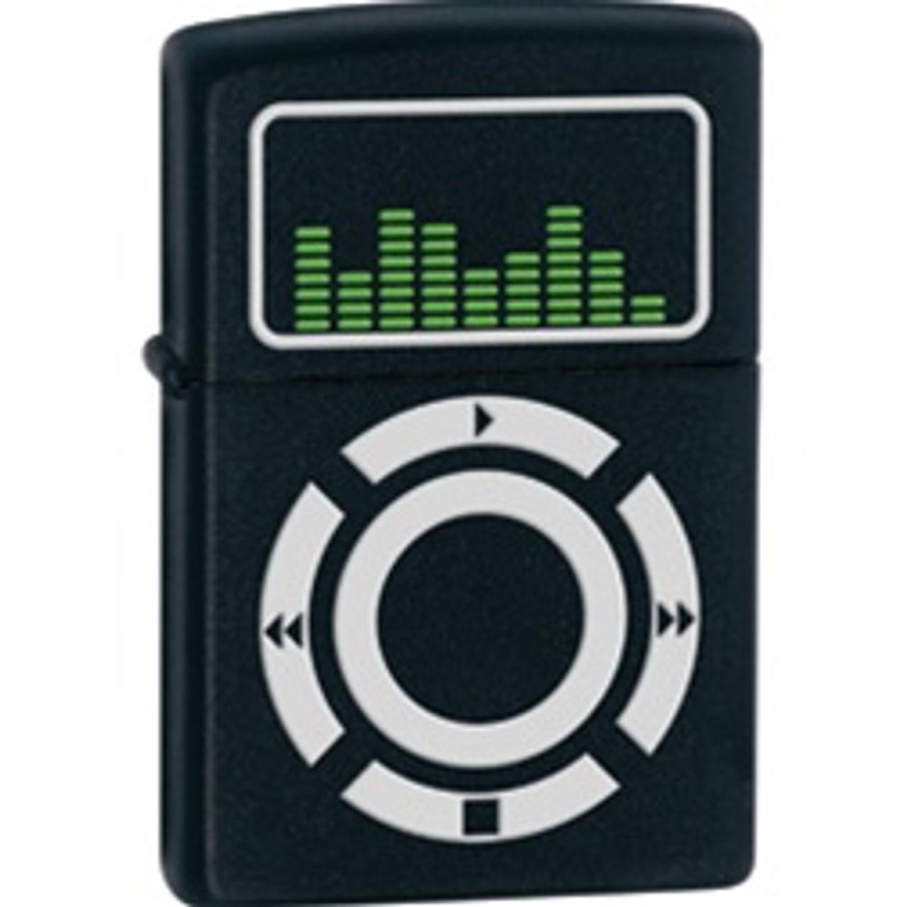 Zippo MP3 Player, Matte Black, ZO24712
