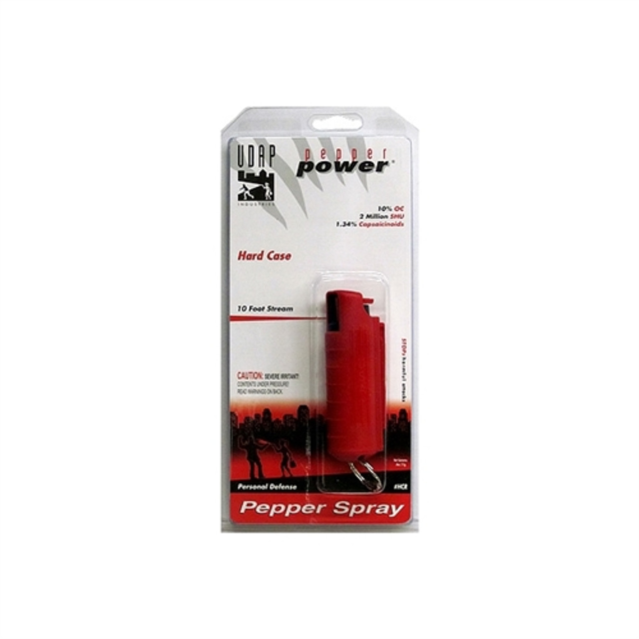 UDAP Industries Pepper Spray, with Red Hard Case