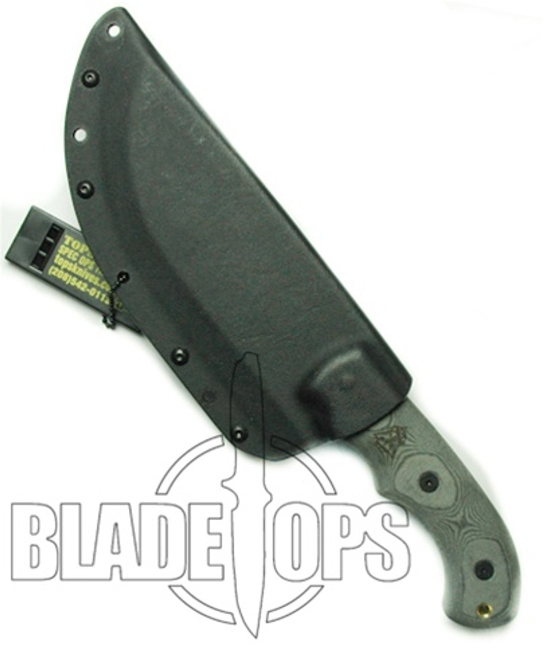 TOPS Knives Tom Brown Tracker Fixed Blade Knife, TPT010