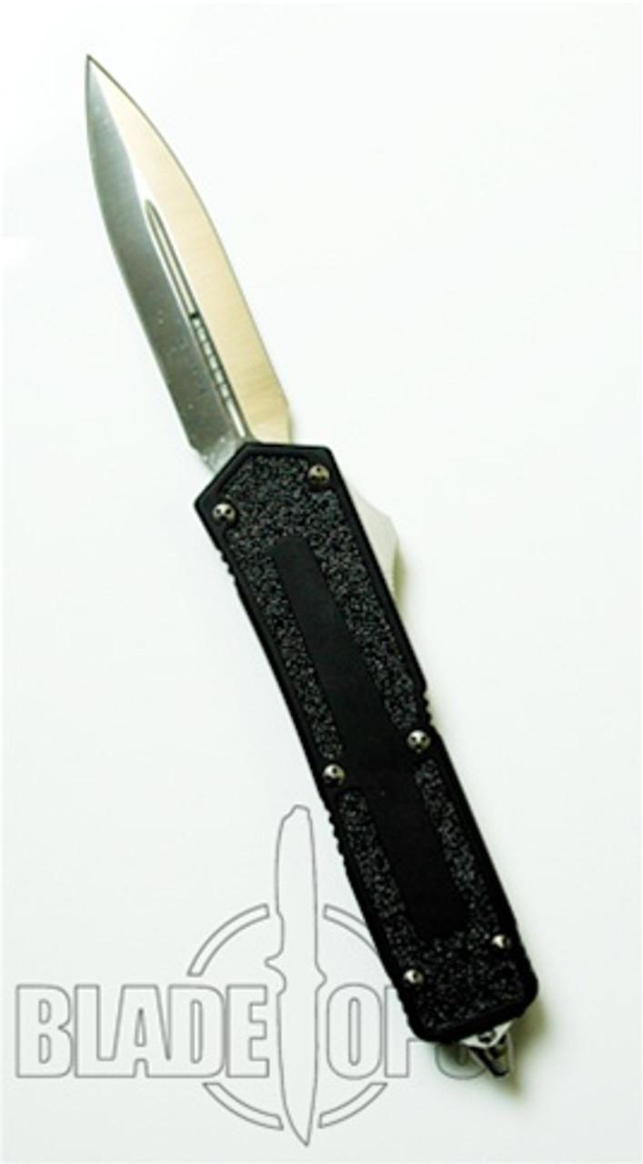 Microtech Scarab Double Action, OTF, Satin Plain Blade, D/E, MT110-4