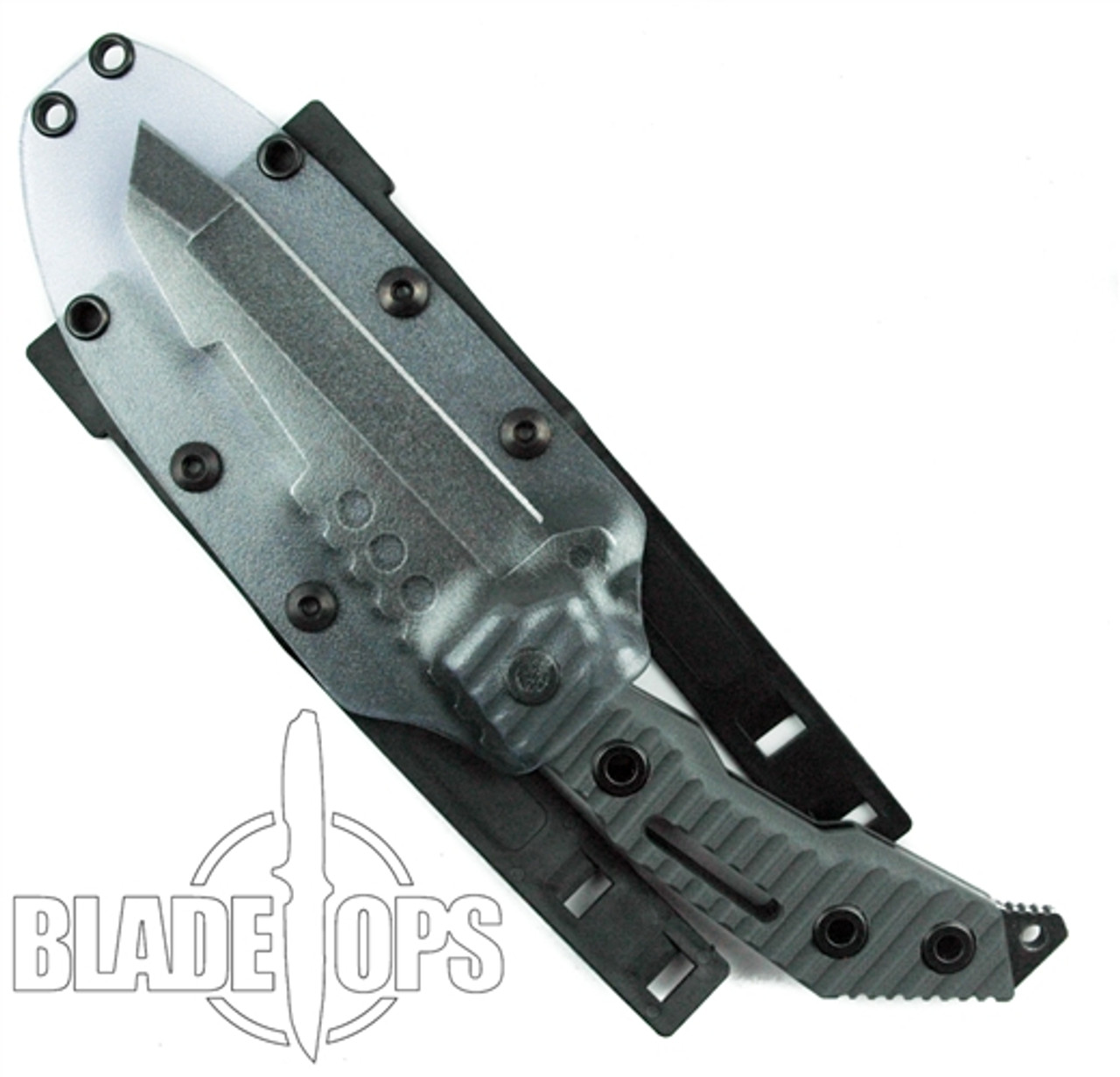 Quartermaster Knives Thomas Magnum QTR-7 Fixed Blade Knife, Texas Tea