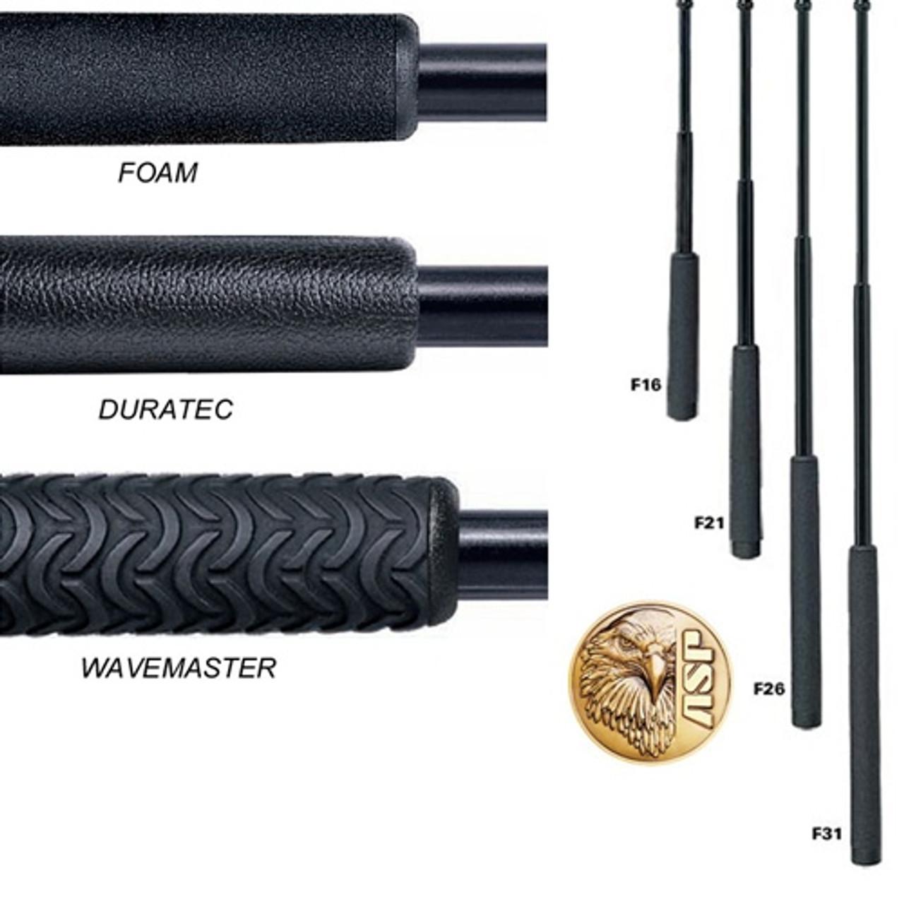 "ASP Expandable Friction Lock 26"" Baton, Chrome, Foam Handle,  F26, 52610"