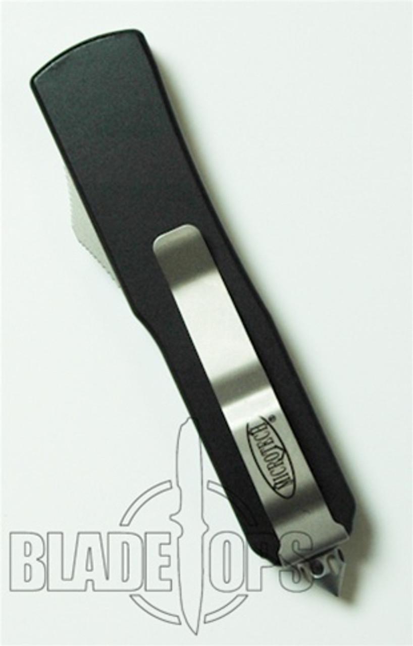 Microtech UTX-85 OTF Knife, Bead Blast Plain Edge, MT125-7