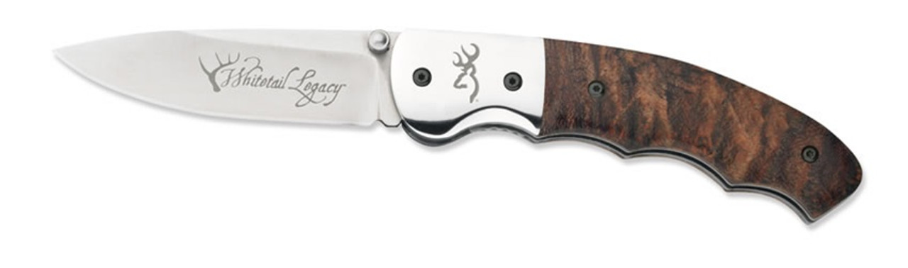 Browning Whitetail Legacy Folder Knife, Drop Point, 249