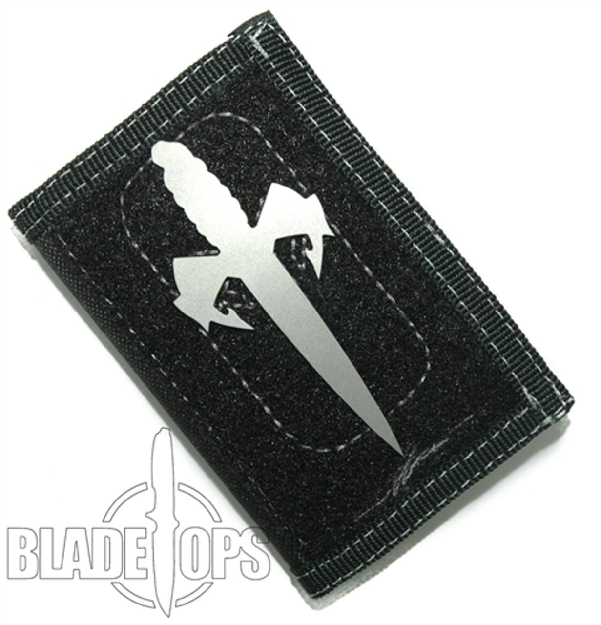 Microtech Assailant Credit Card Knife, DLC Titanium