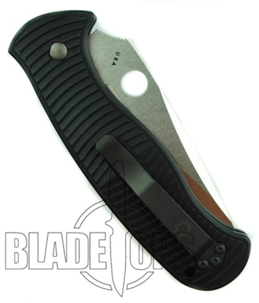 Spyderco Citadel Auto, Plain Edge Blade