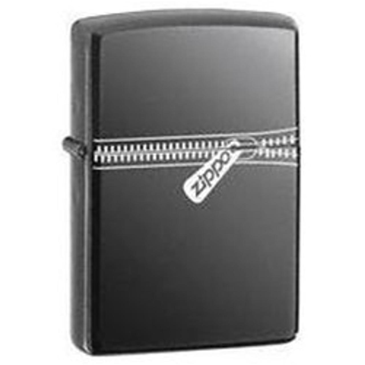 Zippo Black Ice Zipped Lighter, Zippo 21088