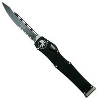 Microtech 251-2 Halo VI S/E OTF Auto Knife, Black Combo Blade