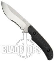 Benchmade Bone Collector 15005S  Fixed Blade Knife, Combo Edge