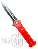 Red Joker Spring Assist Tactical Knife, Side Open, P/S, Large