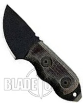 Ontario Little Bird w Glass Breaker, Black Micarta, 9413BM