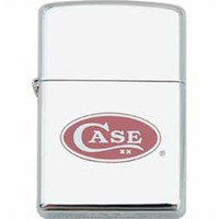 Case Zippo Lighter, High Polish Chrome