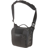 Maxpedition LCRBLK AGR Lochspyr Crossbody Shoulder Bag, Black