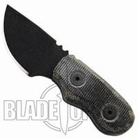 Ontario Little Bird Knife, Black Micarta, 9412BM