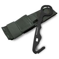 Benchmade 8MED Rescue Hook/ Safety Cutter, Black, ADC Hard Sheath, 8BLKWADCMED