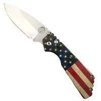 Pro-Tech Limited 22USA-3 Vintage Flag Strider PT Auto Knife, 154CM Stonewash Blade