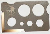 Microtech Assailant II Credit Card Knife, Bronze