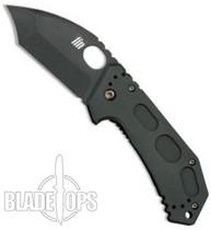 KA-BAR FIN Folding Tanto Point Knife, Framelock, Plain Edge, KA5552