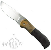 Doc Shiffer Custom Recon Folder Knife, Carbon Fiber Handle
