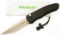Bradley Cutlery Alias I, Large Auto, Part Serrated Blade, BCC17900S